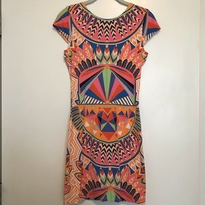 Mara Hoffman fitted patterned dress, small